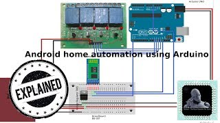 How to make Android home automation using Arduino