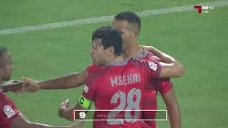 الأهداف   الدحيل 3 - 2 نادي قطر   QNB 17/18