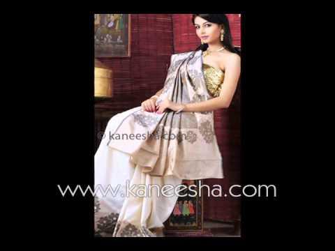 Latest Traditional South Saree 2011, Dhakai Pure Silk Saree