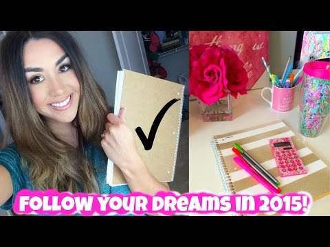 How to REACH YOUR GOALS & STAY MOTIVATED in 2015!