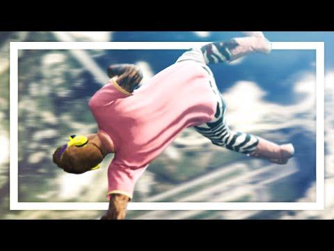 HE WENT FLYING! - GTA 5 Funny Moments