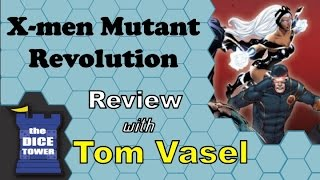 X men Mutant Revolution Review - with Tom Vasel