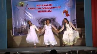 Yuvajaname  Group Dance by Malayalam Christian Community Horsham