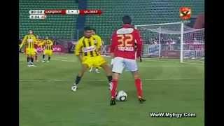 هدف احمد شكري في مرمي المقاولون العرب