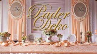 Hochzeitsdeko von Pader-Deko - Highlights 2016