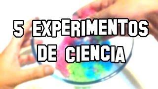 5 Experimentos de Ciencia, Caseros y Fáciles - Experimentos Caseros