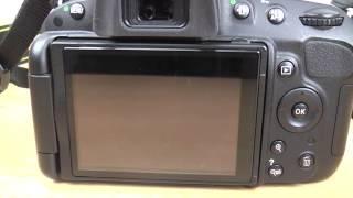 Nikon D5100 basic beginner Manual Focus and rangefinder tutorial