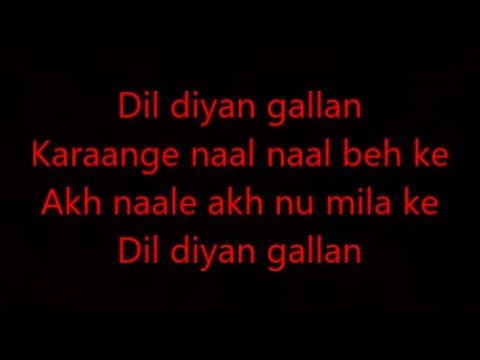Xxx Mp4 Dil Diyan Gallan Lyrics 3gp Sex