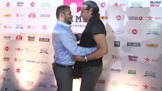 Salman Khan & Jackie Shroff's Mind blowing FUNNY Hug