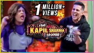 The Kapil Sharma Show : Akshay Kumar & Krushna CRAZY Dance Performance   Parineeti Chopra