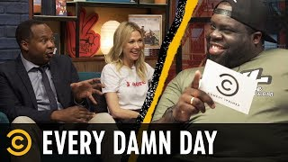 Roy Wood Jr. and Desi Lydic Talk Trump's Tweets & The Hosts Read Your Roasts - Every Damn Day