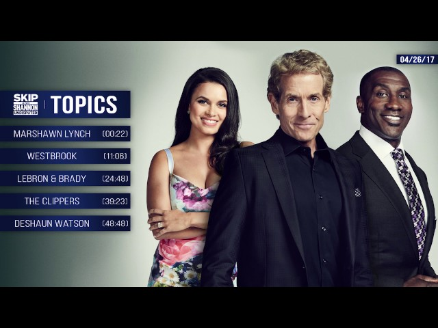 UNDISPUTED Audio Podcast (4.26.17) with Skip Bayless, Shannon Sharpe, Joy Taylor | UNDISPUTED