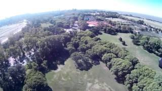 Vista aerea tras el hipódromo de Palermo