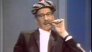 Groucho Marx Dick Cavett 1969
