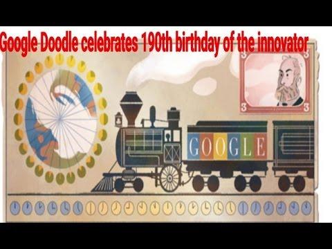 Google Doodle celebrates 190th birthday of the innovator