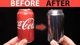 DIY How to Polish a Coca Cola Can - Awesome Experiment