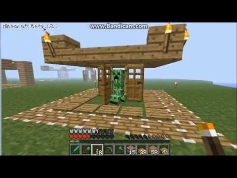 Minecraft How to make the ultimate creeper trap