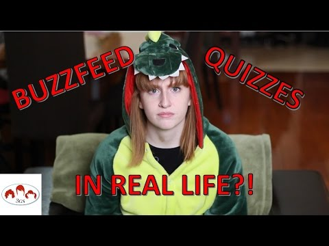 BUZZFEED QUIZZES IRL // 3 Ginger Sisters