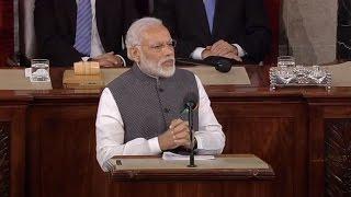 Narendra Modi's speech at Joint Meeting of US Congress
