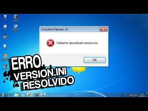 Error CrossFire 'Failed to download version.ini' [Resolvendo] 2017 2018