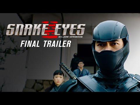 Snake Eyes Final Trailer 2021 Movie Henry Golding G.I. Joe