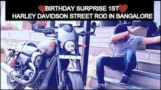 FIRST HARLEY DAVIDSON STREET ROD IN BANGALORE