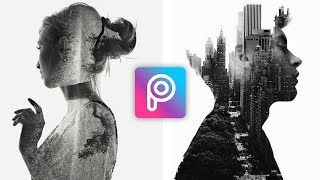 Cara Edit Foto Double Exposure di Picsart Terbaru | Tutorial