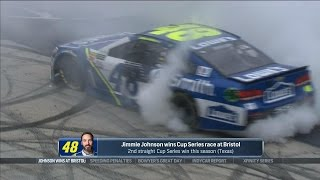 New changes to Bristol helped Jimmie Johnson win