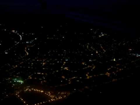 Pouso noturno Guarulhos SP voo vindo de Buenos Aires para São Paulo TAM A320 PR MAP