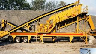 Cement crusher and grinder