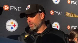 Steelers OC Todd Haley talks Antonio Brown, second half of season