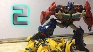 Transformers The Last Knight Pt.2(Optimus Prime vs Bumblebee) stopmotion