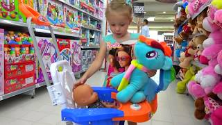 Kids Shopping at the supermarket / Baby Nursery Rhymes Songs for babies and toddlers
