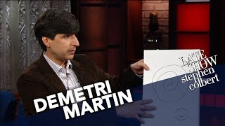 Demetri Martin Shares His Early Comedy Drawings