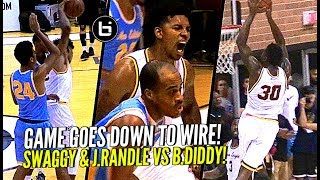 Nick Young & Julius Randle vs Baron Davis at The Drew! Ankles Get Broken & Rim Gets Punished!