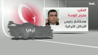 أسماء أبرز الانقلابيين في تركيا