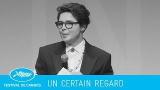 PALMARES -Un certain regard- (vf) Cannes 2015