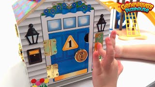 Dollhouse for Kids - Best Toy Learning Video for Toddlers - Cute Kid Genevieve - Kids Learning Video