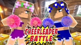 CHEERLEADER CAT FIGHT BETWEEN LITTLE KELLY & CARLY! Minecraft Lucky Block Special
