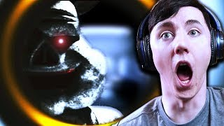 HE'S OUT THERE... WATCHING ME! || Porkchop's Adventure (FNaF Fangame) Part 2