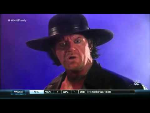 WWE SmackDown 19.11.2015 The Undertaker and Kane warn the Wyatt Family