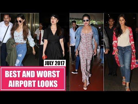 Xxx Mp4 Deepika Padukone Kareena Kapoor Katrina Kaif Best And Worst Dressed Airport Looks July 2017 3gp Sex