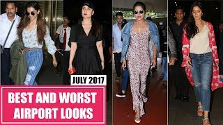 Deepika Padukone, Kareena Kapoor, Katrina Kaif : Best and Worst Dressed Airport Looks July 2017