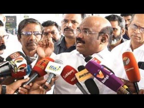 Jayalalitha Death Row :TTV Dinakaran & Divakaran Should be arrested : Jayakumar Minister