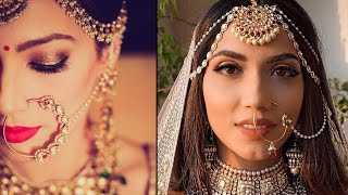 BRIDAL NOSE RING INDIAN BRIDAL MAKEOVER VIDEOS (INDIAN NOSE JEWELRY)