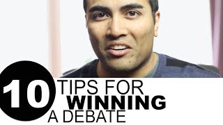 10 Tips for Winning a Debate