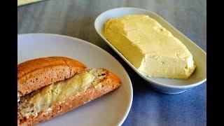 Homemade Butter طرز تهیه کره طبیعی به روش خانگی