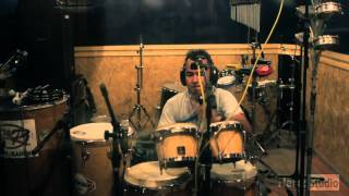 Percussion Record in HertzStudio (just one AKG C 414 over all the percussion)