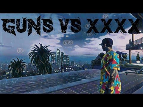 GTA V ONLINE : GUNS vs XXXX