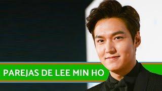 Las parejas de Lee Min Ho